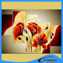 famous oil paintings of flowers in vase modern painting with wholesale price