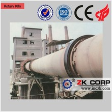 Refractory cement rotary kiln hot sale in Russia