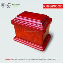 U-HL01 animal bone ash casket cheap urns