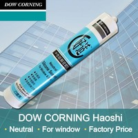 300ml dow corning quality neutral silicone sealant with most competitive price