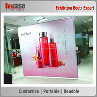 Make up pop up outdoor trade show display booth