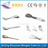 popular Titanium Spork,titanium spoon,metal spork flatware