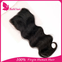 New Cheap Wholesale Lace Closure in Natural Color Body Wave