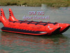 inflatable banana flying rafts / flying water sports inflatable rafts / flying banana rafts