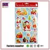 High Quatily Santa Claus Wall Sticker 3D For Kid Gift