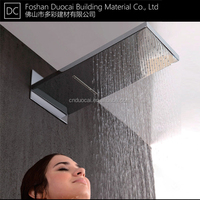 Wall Mounted Stainless Steel Dual Rain and Waterfall Shower Head (BT-L5623FJ)