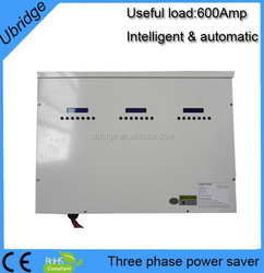 three phase electricity saving box with Software(chip) and CT