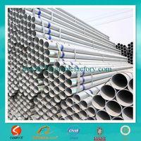 BS 1387 galvanized rectangular steel pipes/DIN EN 10025 galvanized rectangular section tubes