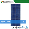 Bluesun high quality best price 140w Poly solar panel price for home use