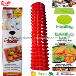 As Seen On TV Non-stick Healthy Cooking Heat Resistant Silicone Mat Custom Silicone Baking Mat