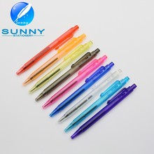 2015 hot selling Plastic Mini ball pen,colorful bookmark pen