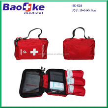BK-K28 Customized for Germany client soft outfitter first aid kit, medication travel bag