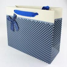 china factory wholesale free sample decoration handmade banded paper bag
