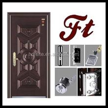 china new model best price smart steel door high quality steel security doors