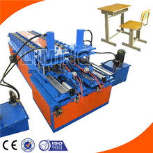 Top quality and cheap modern glass computer table legs roll forming line