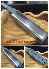 Stainless steel push open door system