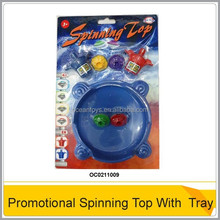 HOT!! Plastic Spinning Top With Tray OC0211009