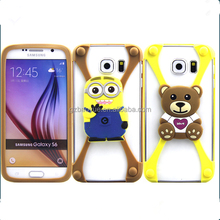 Flashing LED Cell Phone Bumper Cover Mobile Cases For Iphone, Universal Customized cell phone accessories For Samsung