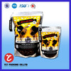 China Hottest Stand Up Food Grade stand up Bag with your own logo for pet food packing