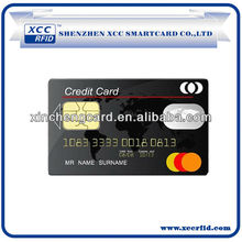 High security ic contact card for hotel,bank etc