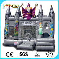 CILE Mysterious Magic Inflatable Bouncy Castle Playfield for Halloween Toys