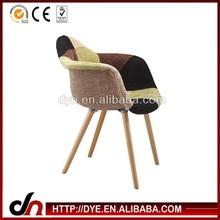2015 popular silla,de alta calidad, personalizados silla eames, de madera tapizados sillas de comedor