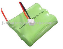 Rechargeable nimh aa 1500mah 3.6v battery
