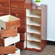 brown narrow solid wood hot sale wood chest of drawers