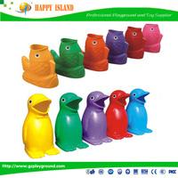 Factory Price CE GS SASO Food Grade Material Bear Fruit Dustbin fiberglass dustbin