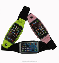 Running Belt, Holds Smartphone & More During a Workout, No Bounce, Adjustable Waist Pack