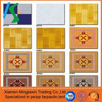 plastic floor covering roll/ WATERPROOF INDOOR FLOOR COVERING / PVC CARPET ROLLS