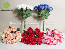 Wedding real touch rose shop car decoration rose bud artificial flower