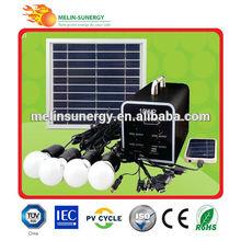 residencial portátil de energía solar kit