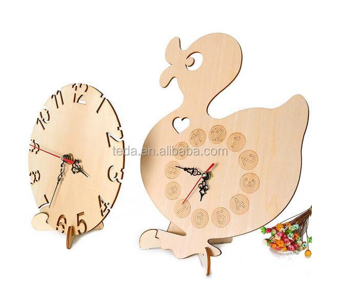 Dark Design Wood Clock (2)
