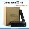 HD Digital Satellite Receiver Cloud ibox III se with Twin Tuner DVB-S/S2 + DVB-T2/C Cloud Ibox 3 se