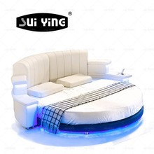 modern king size round bed CY006