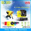 "WIFI Action Camera W9 wifi 12MP CMOS Full HD 1080P 30FPS 2.0""LCD Diving 30M Waterproof Sport DV CAM"
