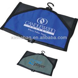 210T polyester /nylon fold and go travel bag
