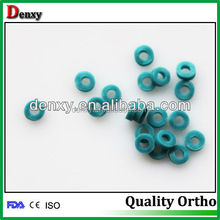 Promotional top quality orthodontic dental seperating elastics rings / points tooth circle