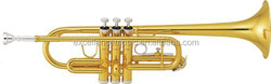 musical instruments from China higher quality professional children c key trumpet with cheap price