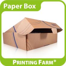 Custom Logo Printing Pizza Kraft Paper Corrugated Box
