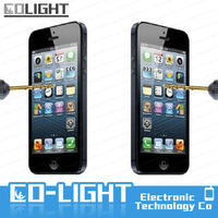 Tempered glass screen cover for iphone4 4s