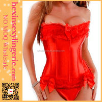 Latest style super deal satin sexy fat woman corset