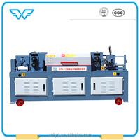 hydraulic wire decoiler wire rods straightening and cutting machine