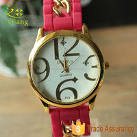 Wholesale Top Selling Cheap Quartz Wrist Watch Sport Silicone Watch Big Number