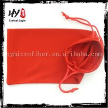 Best Selling buy microfiber eyeglasses bag/cell phone pouch /microfiber folding non-woven fabric