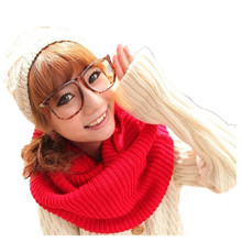 Simple and fashion high quality 7 color choice circle neckwear lovely magic ladies scarves 2015
