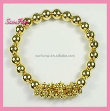 New products on china market 22k gold bracelets A002106