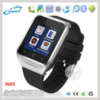 Best touch screen china 2G 3GAndroid 4.4 dual core sim card smart wrist watch cell phone hot wholesale with wifi gps G-Sensor