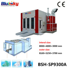 CE approved china supplier inflatable spray booth/painting equipments powder used/spray painting oven